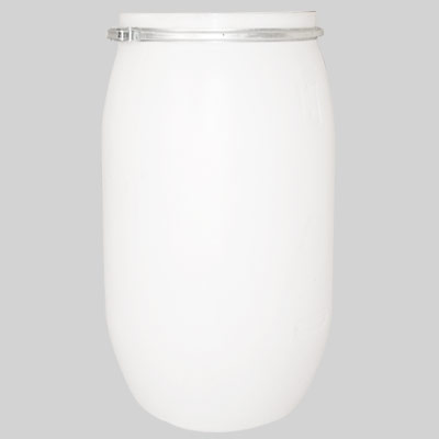 white plastic drums 120-2 liter