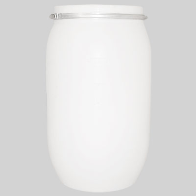 white plastiv drum 220 Lt